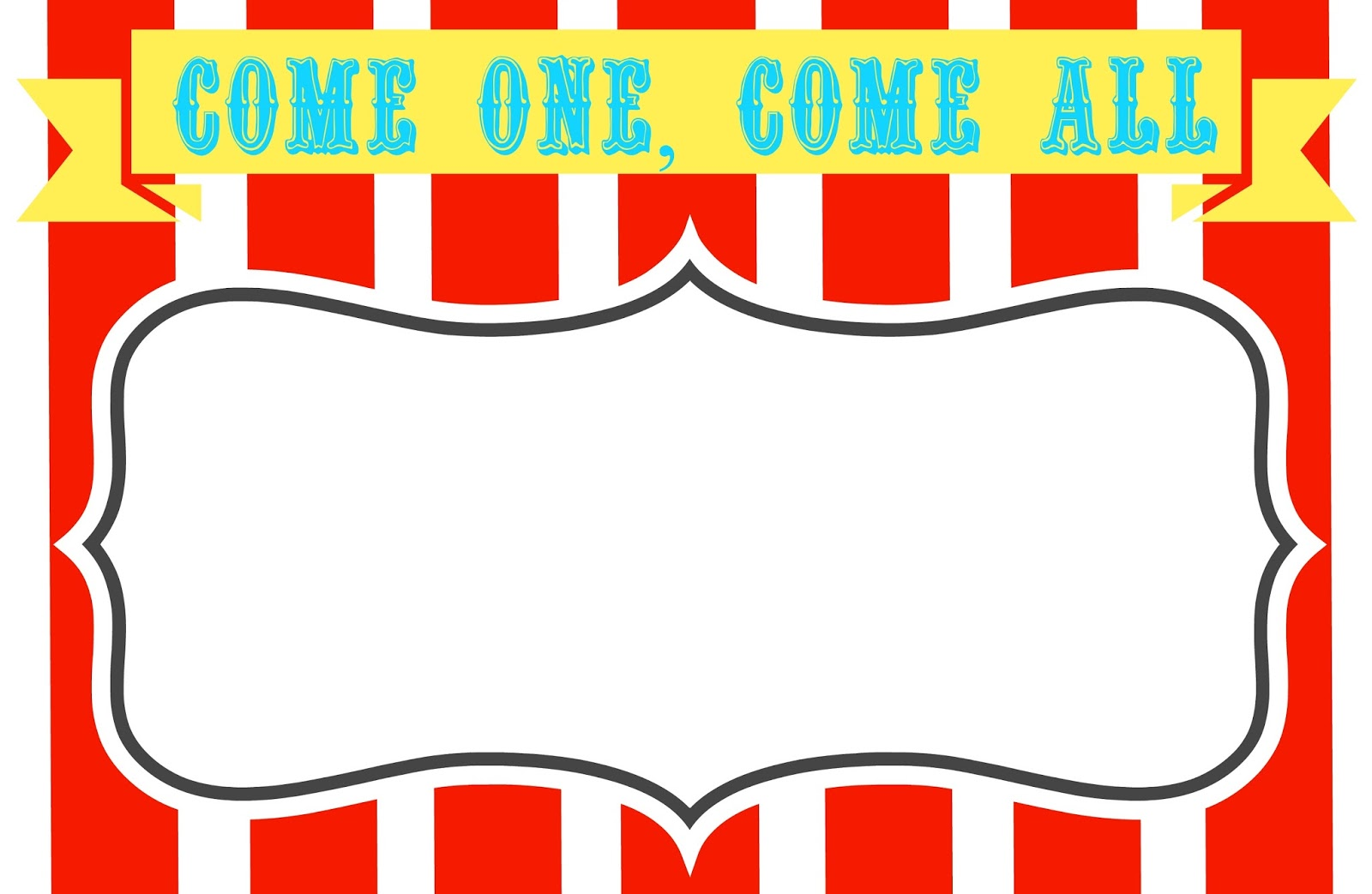 4 Images of Printable Circus Templates