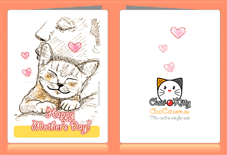 Cat Greeting Cards Printable