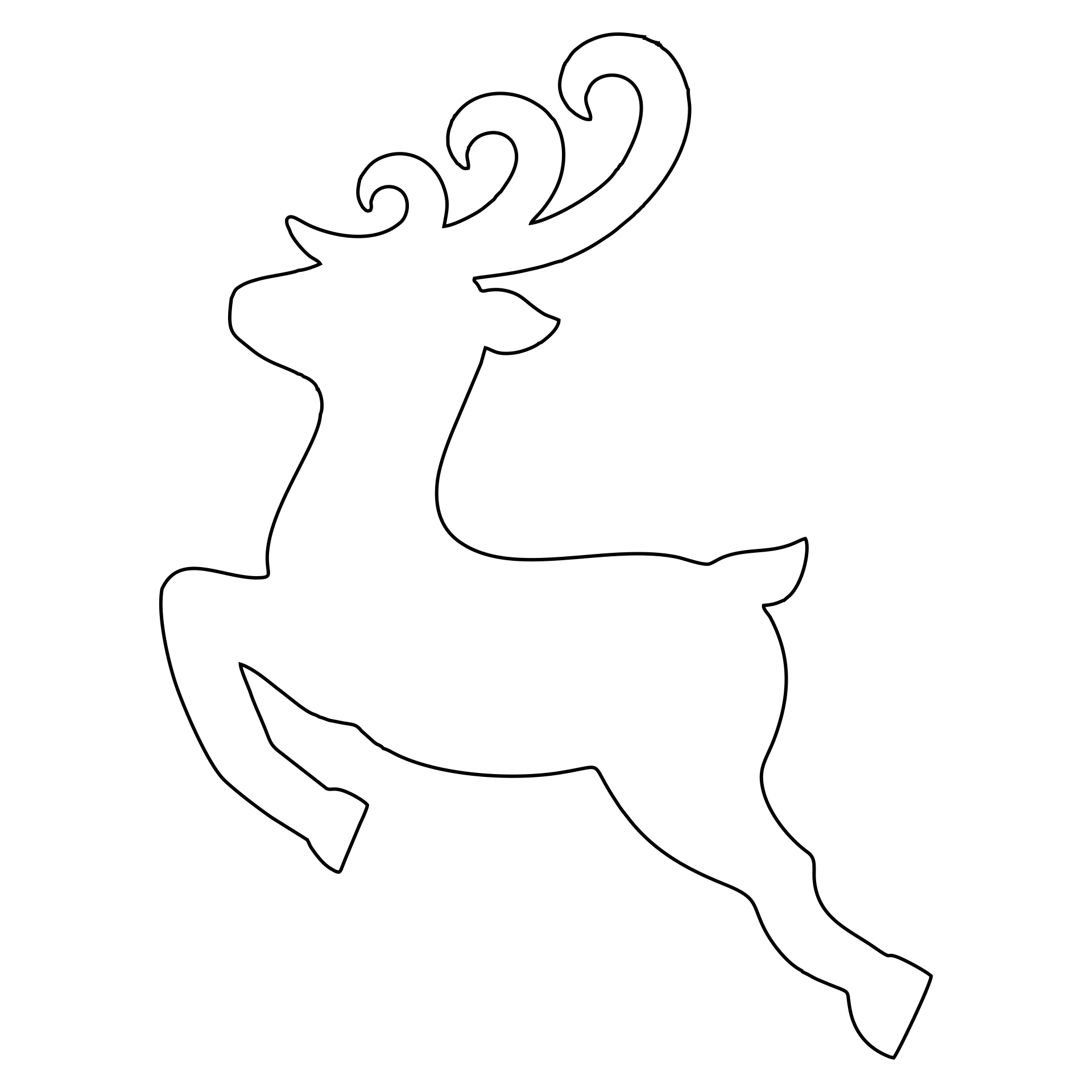 8 Best Images of Printable Templates Christmas Sleigh ...