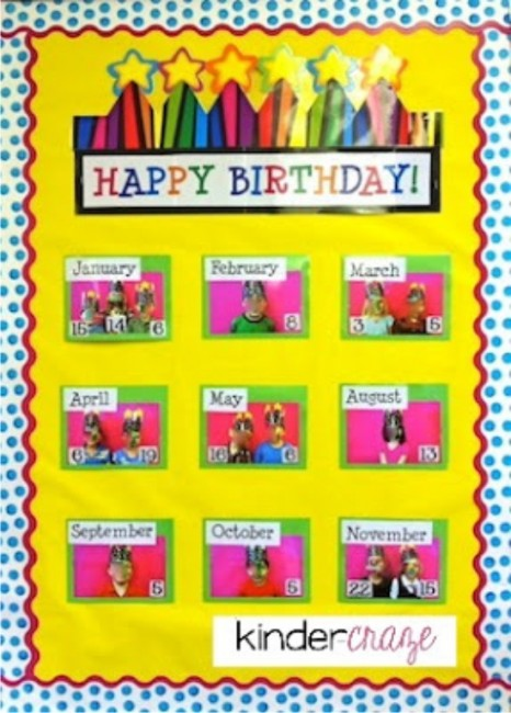 birthday bulletin board templates - 8 best images of classroom birthday printables free