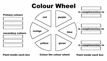 6 best images of color wheel printable sheets blank color wheel chart color wheel worksheet. Black Bedroom Furniture Sets. Home Design Ideas