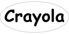 Crayola Crayon Logo Template