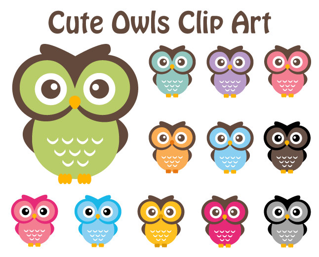 4 Images of Free Printable Owl Clip Art