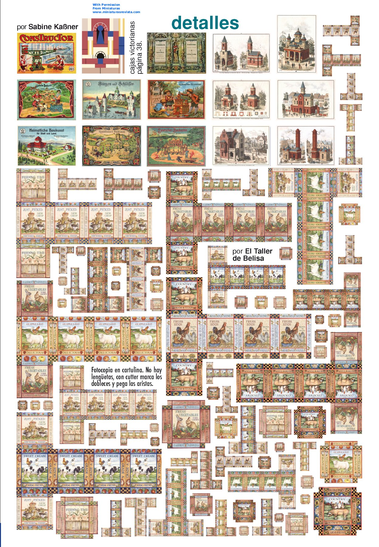 6 Images of Dolls House Dollhouse Miniature Printable