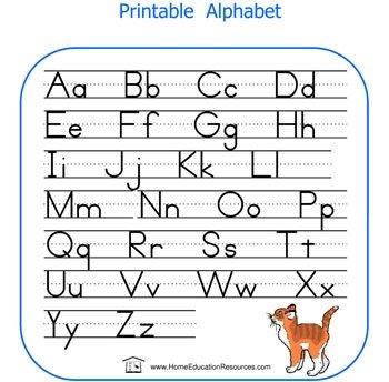 ... Printable 6 best images of big printable abc list - free printable
