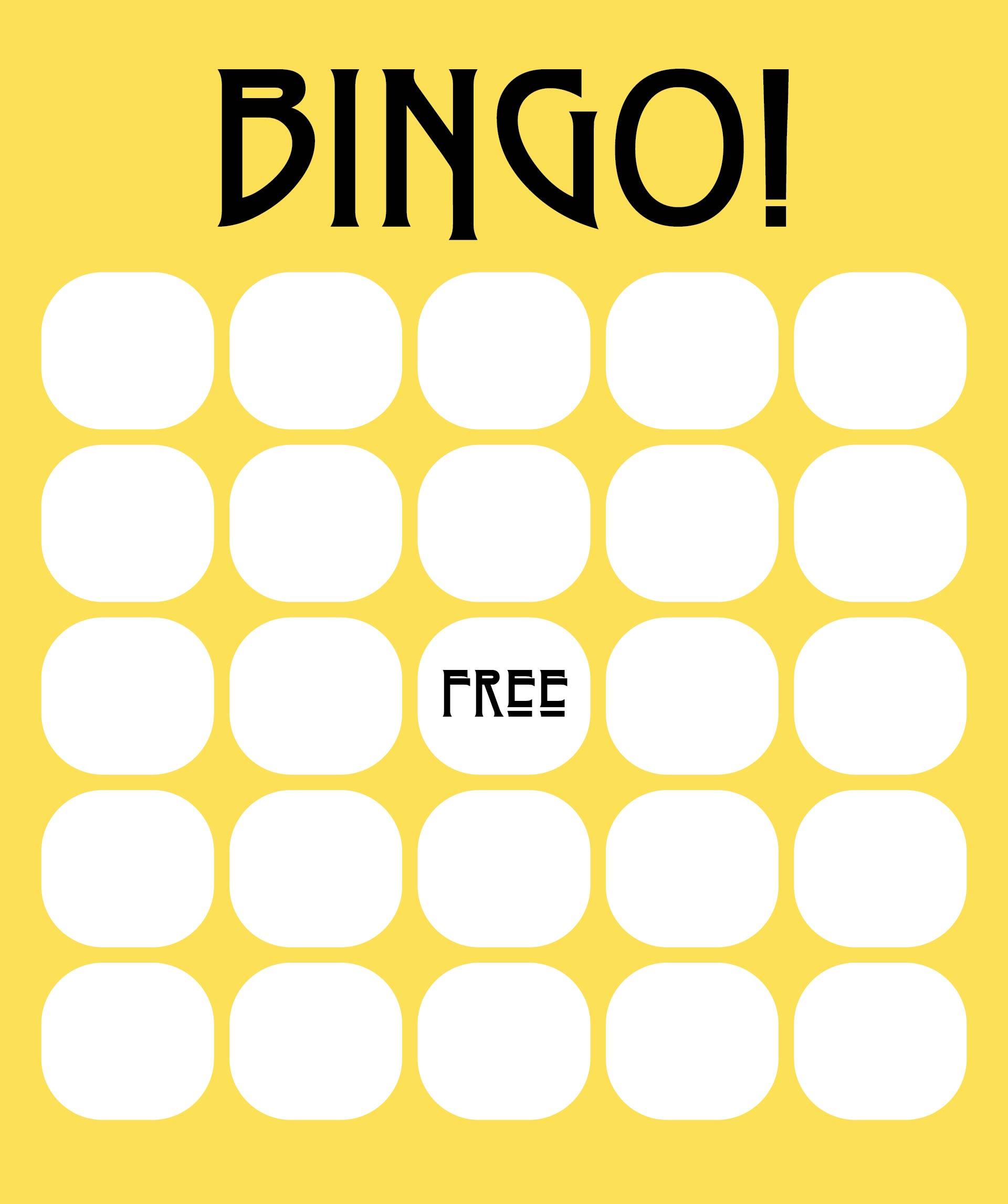 21 Best Excel Bingo Card Printable Template - printablee.com For Blank Bingo Card Template Microsoft Word