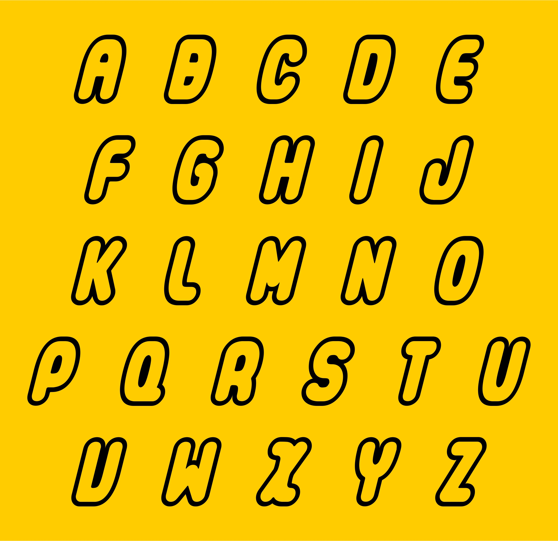 Printable LEGO Letters
