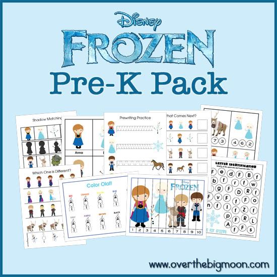 8 Best Images of Disney Frozen Printable Worksheets - Disney ...