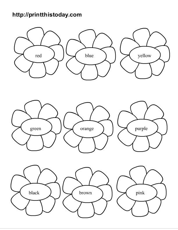 Free Printable Spring Coloring Activity Pages