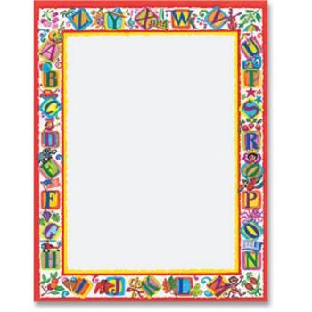 Printable page borders for teachers