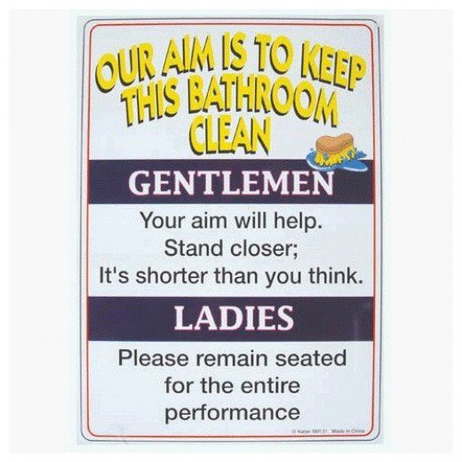 Funny bathroom songs