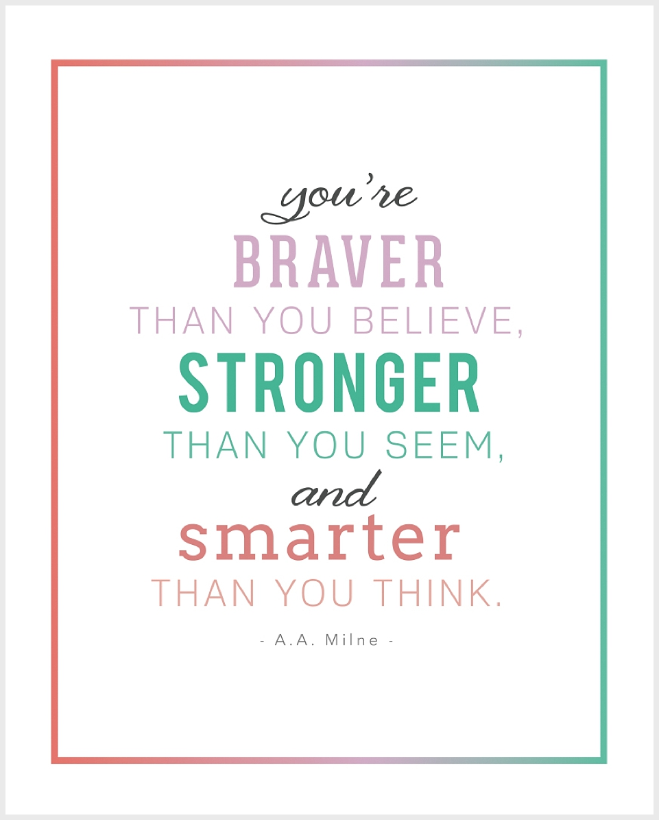 Inspirational Quotes for Kids Printable Free