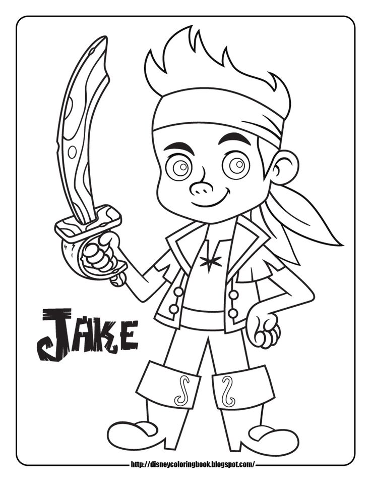 5 Images of Jake The Pirate Fun Printables