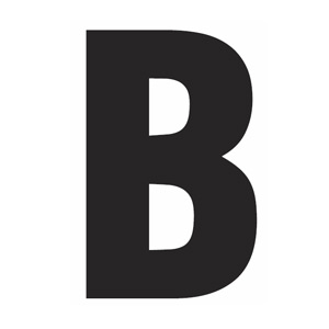 4 Images of Printable Capital Letter B