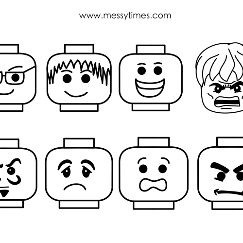 8 Best Images of Printable Face Template - Face Template Printable ...