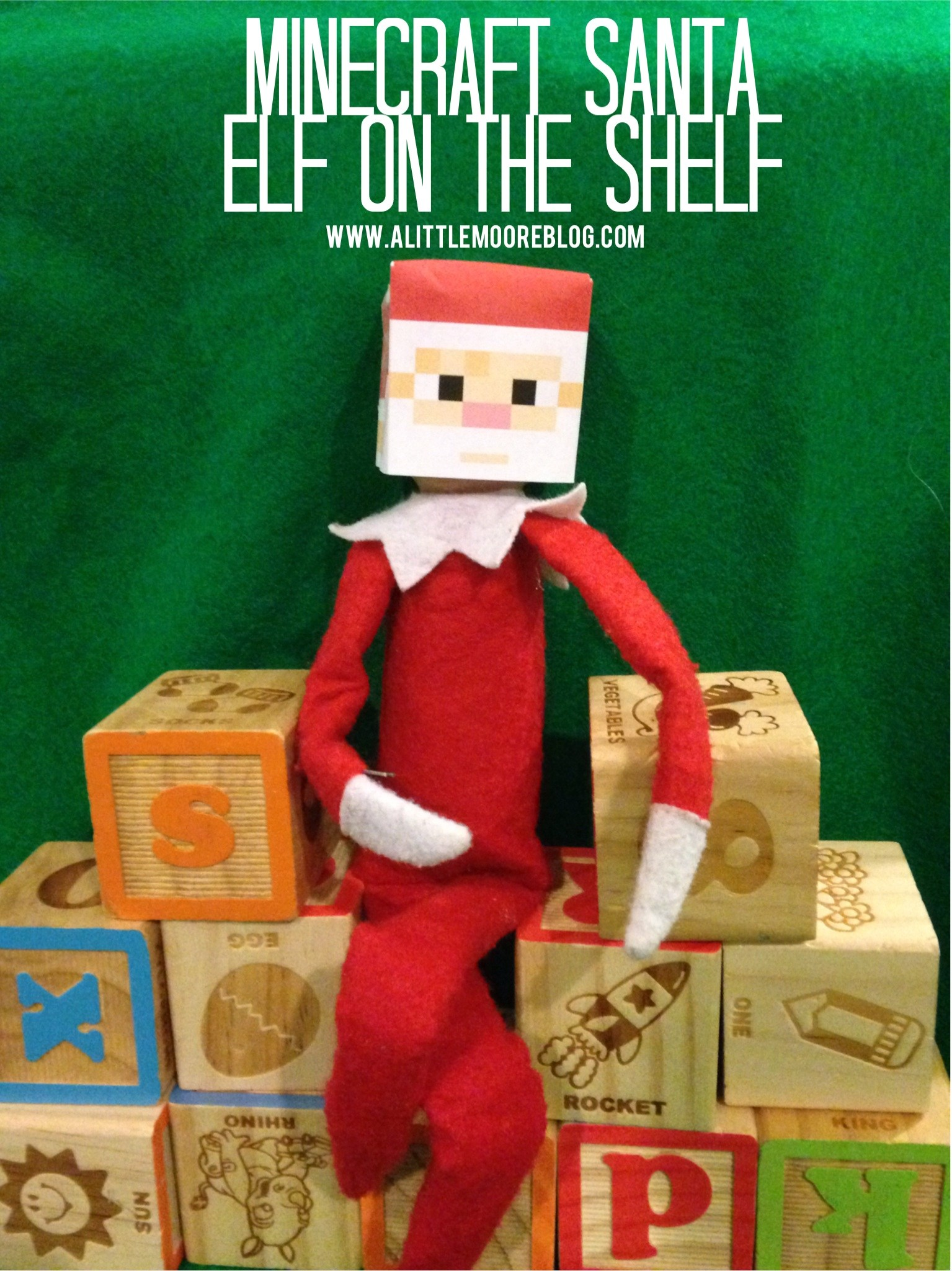 4 Images of Free Printable Elf On The Shelf Craft