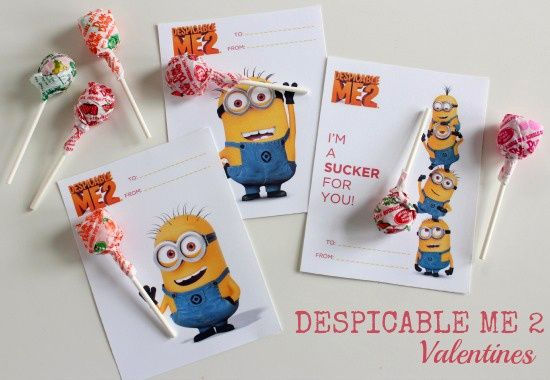 7 Images of Despicable Me Printable Craft