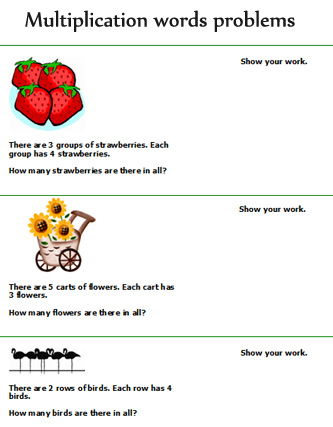 7 best images of multiplication word problems printable