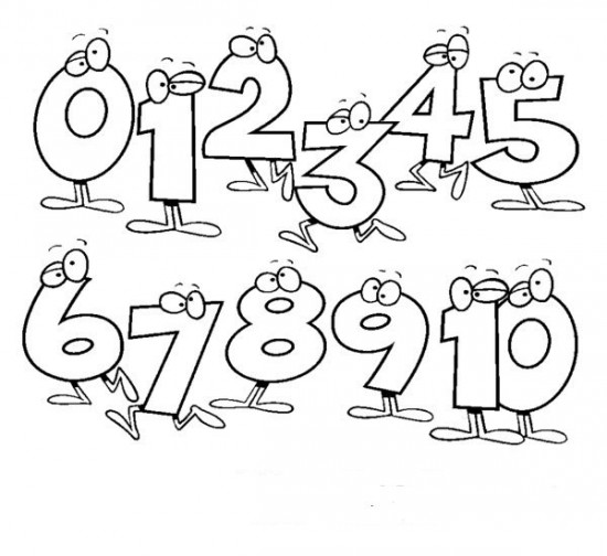 math worksheet : 6 best images of colorful january printable numbers 1 31  color  : Number Coloring Worksheets For Kindergarten