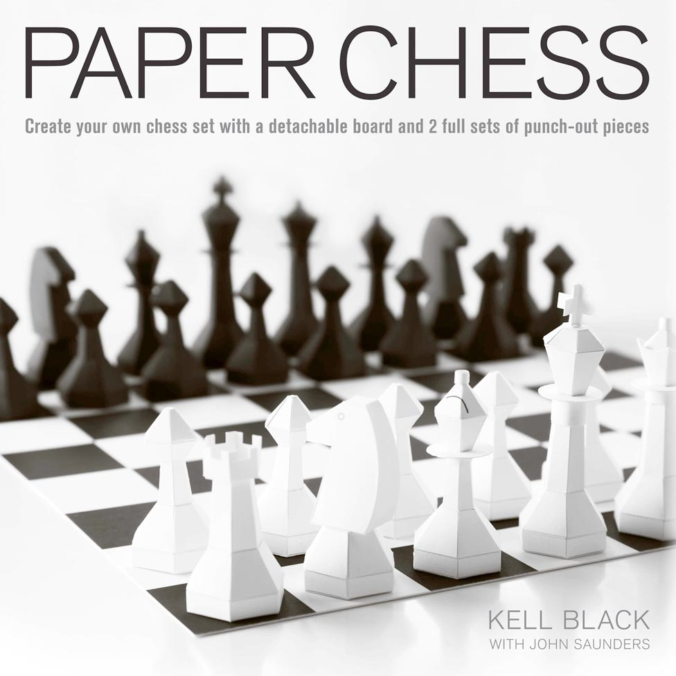 Шахматы из бумаги для детей