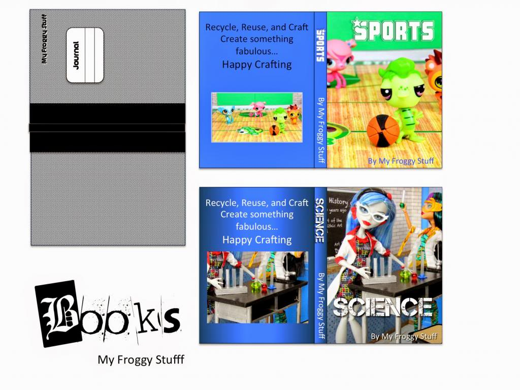 4 Images of My Froggy Stuff Printables Books