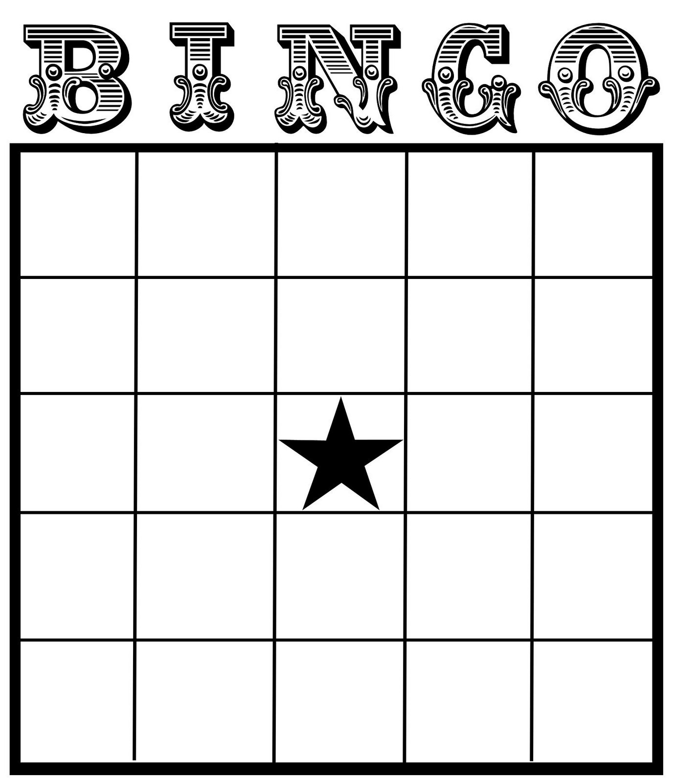 21 Best Excel Bingo Card Printable Template - printablee.com With Blank Bingo Card Template Microsoft Word