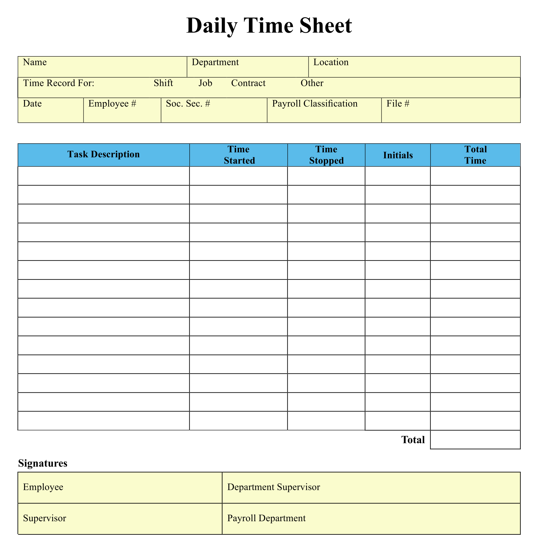 It's just a graphic of Unusual Printable Time Sheets Weekly