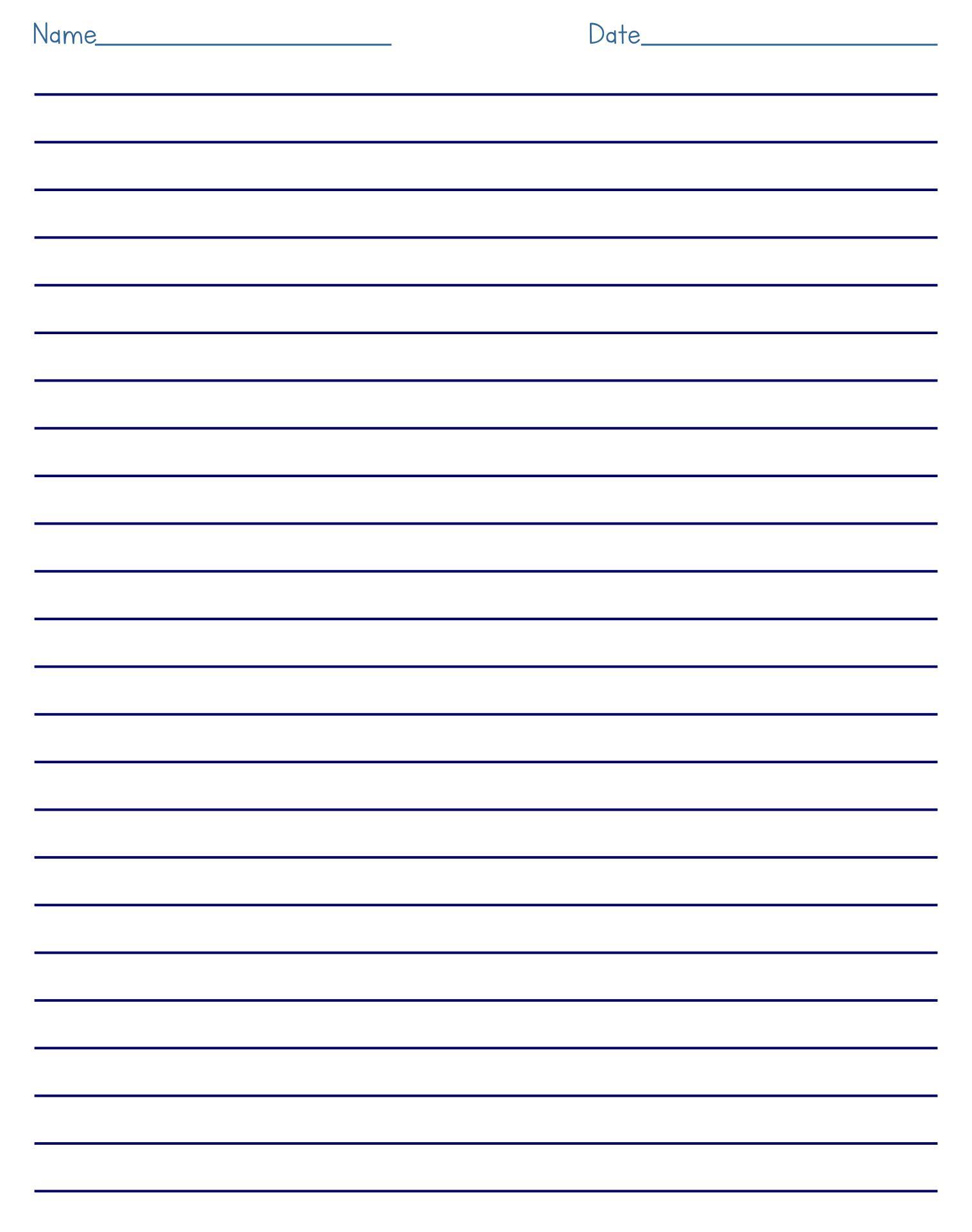 7 Best Blank Cursive Worksheets Printable - Printablee.com