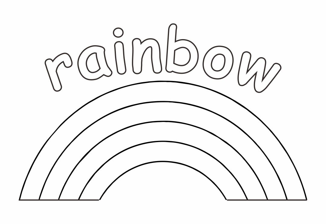 6 Best Dot Rainbow Printable Coloring Pages Printablee Com