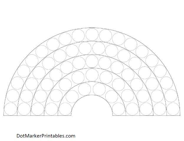5 Images of Free Dot Marker Printables