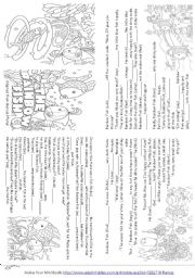 5 Images of Rainbow Fish Story Printable