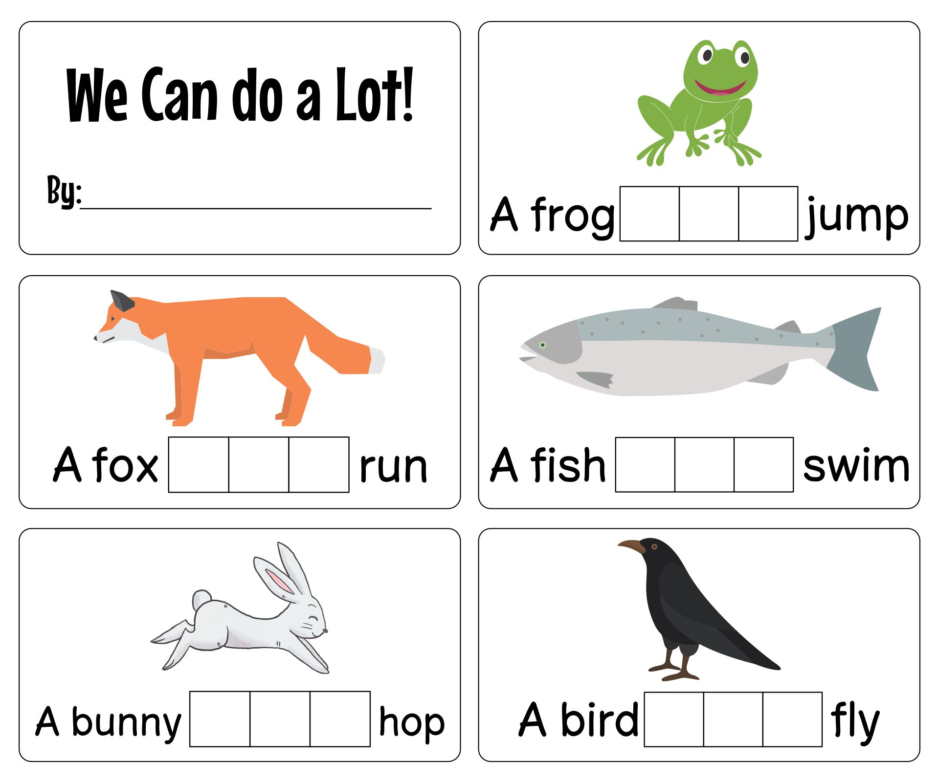 Reading Sight Words Printable Books