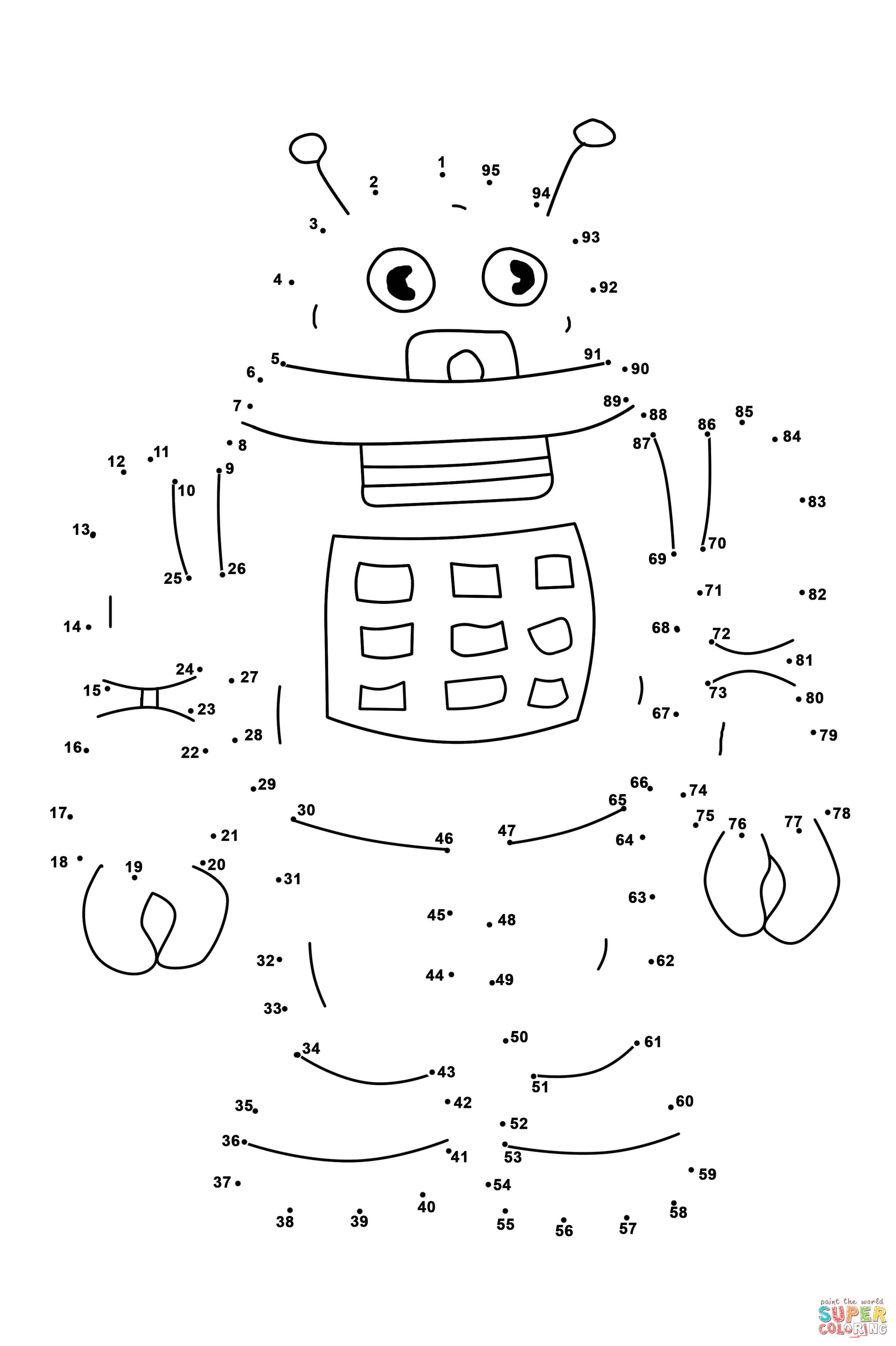 6 Best Images of Dot To Dot LEGO