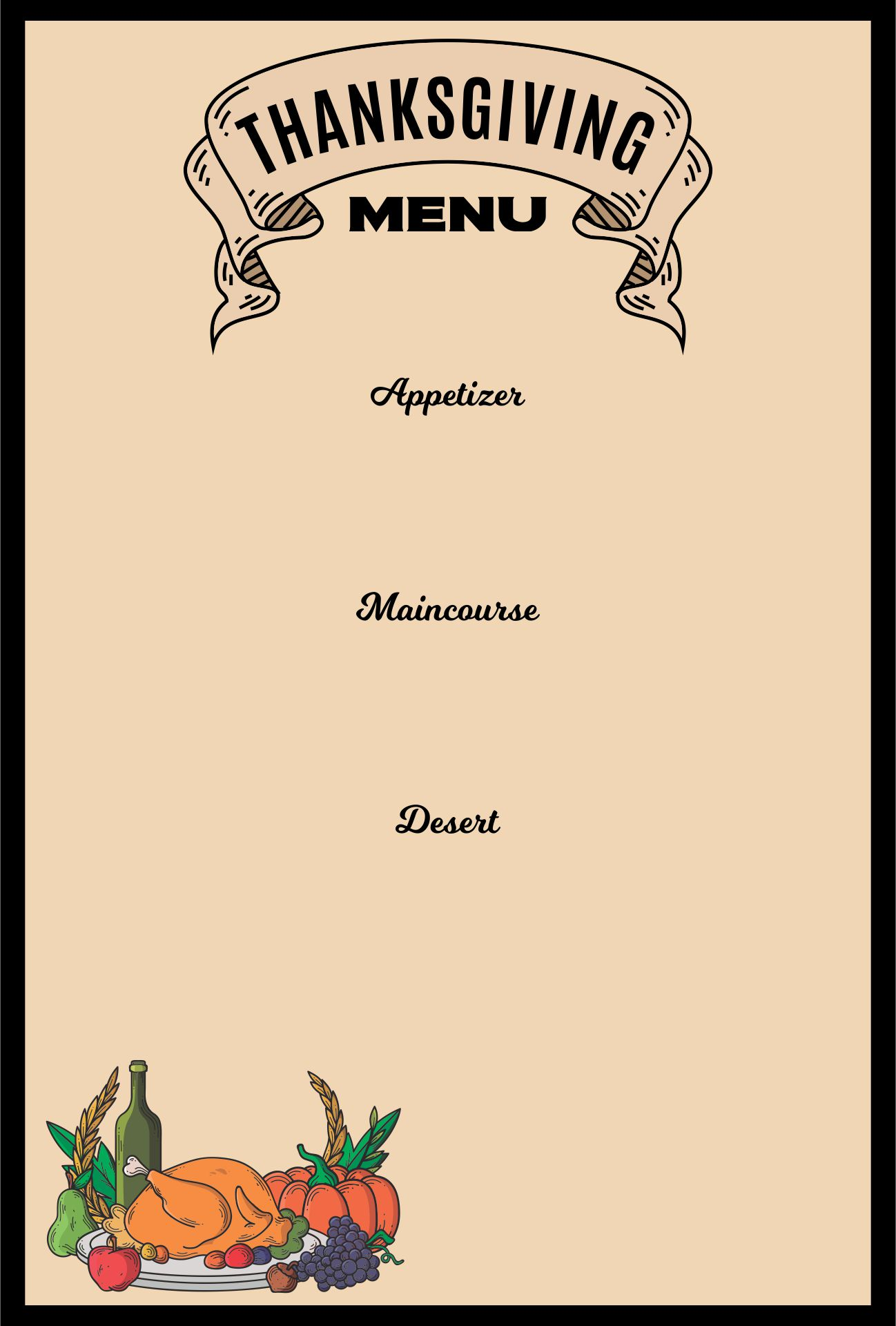 20 printable free psd restaurant menu maker templates print