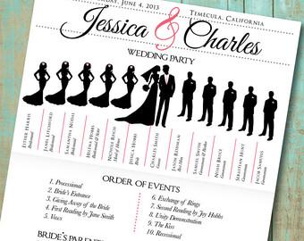 7 best images of program printable wedding day schedule free printable wedding day schedule. Black Bedroom Furniture Sets. Home Design Ideas