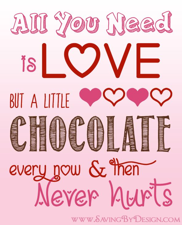 1 Images of Free Printable All You Need Is Love