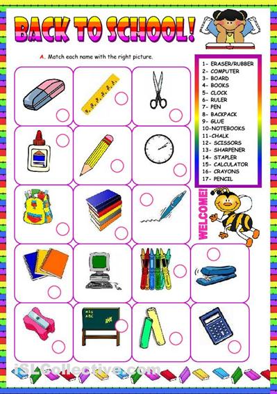 number names worksheets school worksheets for kindergarten 5 best images of preschool back to school - Back To School Worksheets For Kindergarten