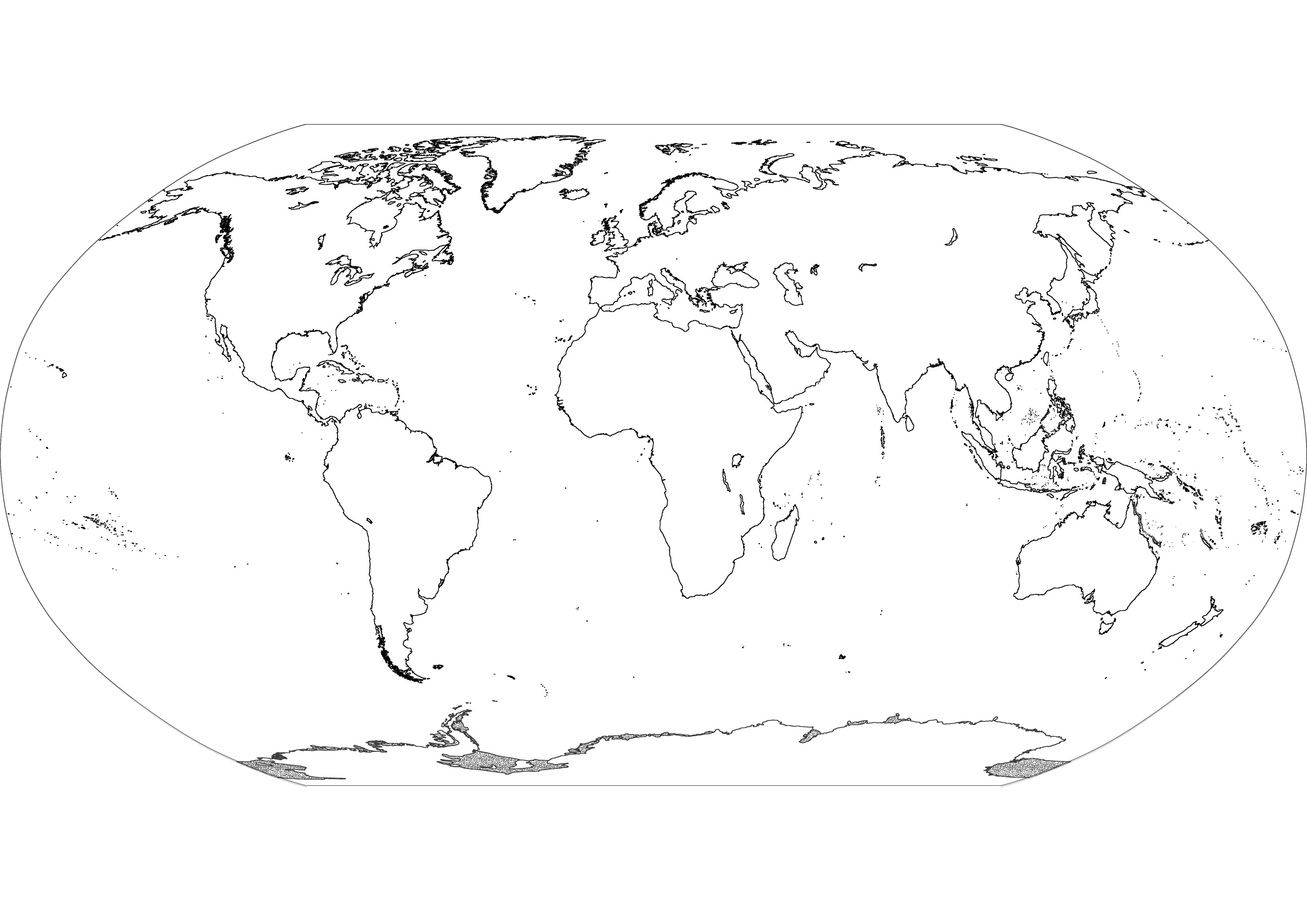 4 Images of Printable Map Of Continents Black And White