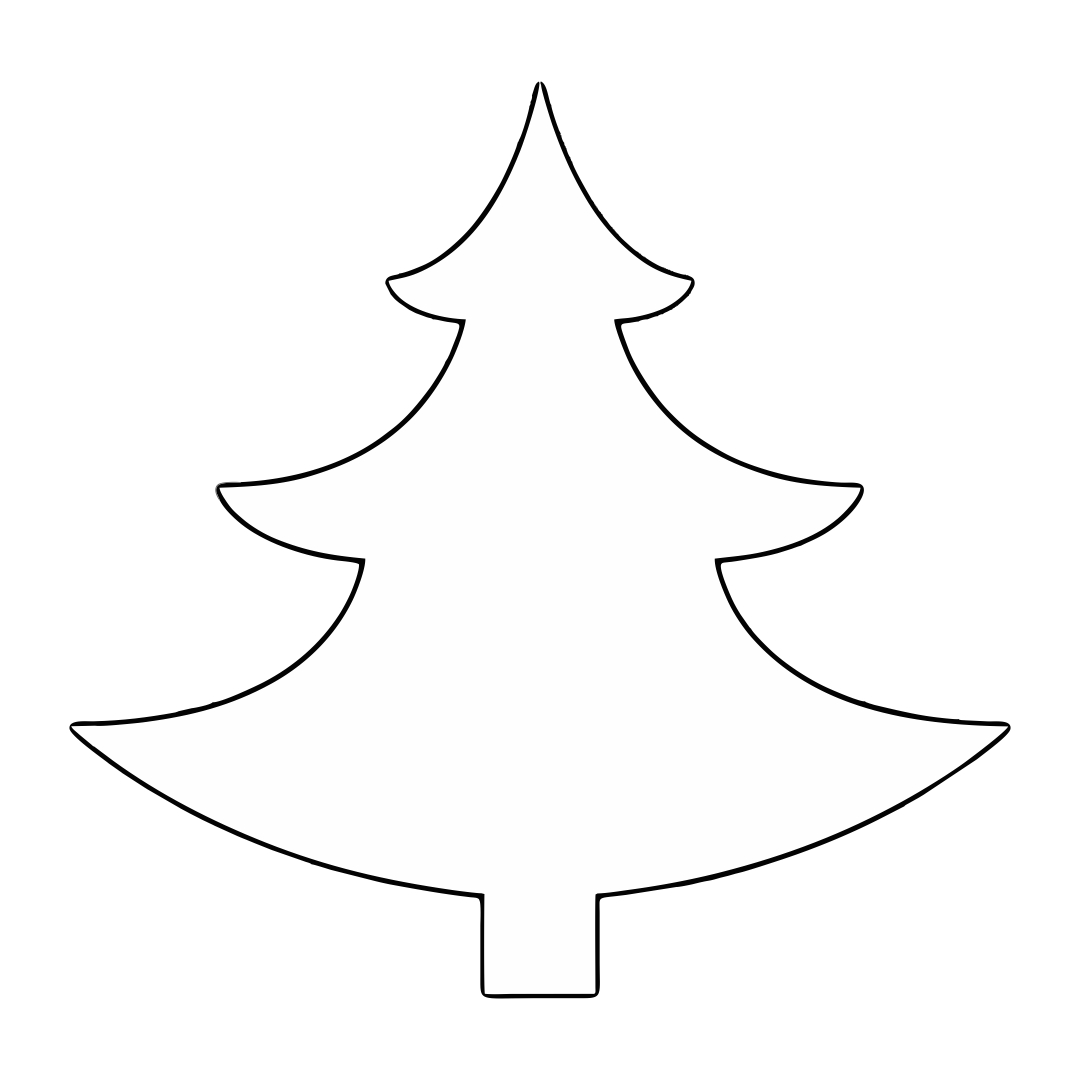 7 Best Images of Large Printable Christmas Tree Patterns ...