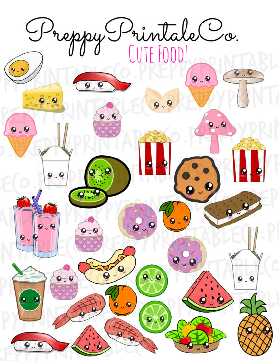 Cute Kawaii Sticker Printables