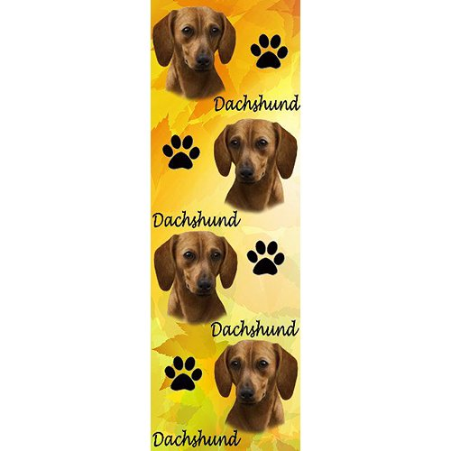 5 Images of Dachshund Bookmarks Printable