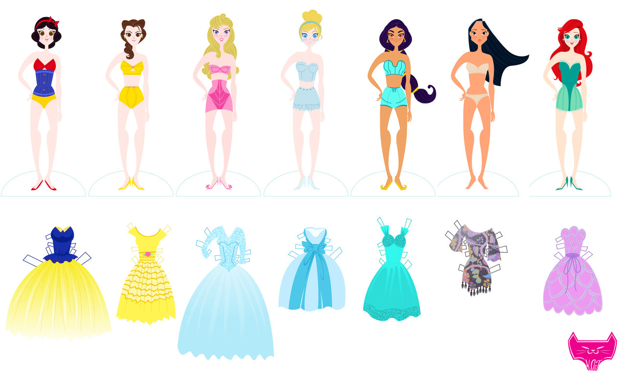 6 Best Images Of Free Printable Paper Dolls Disney