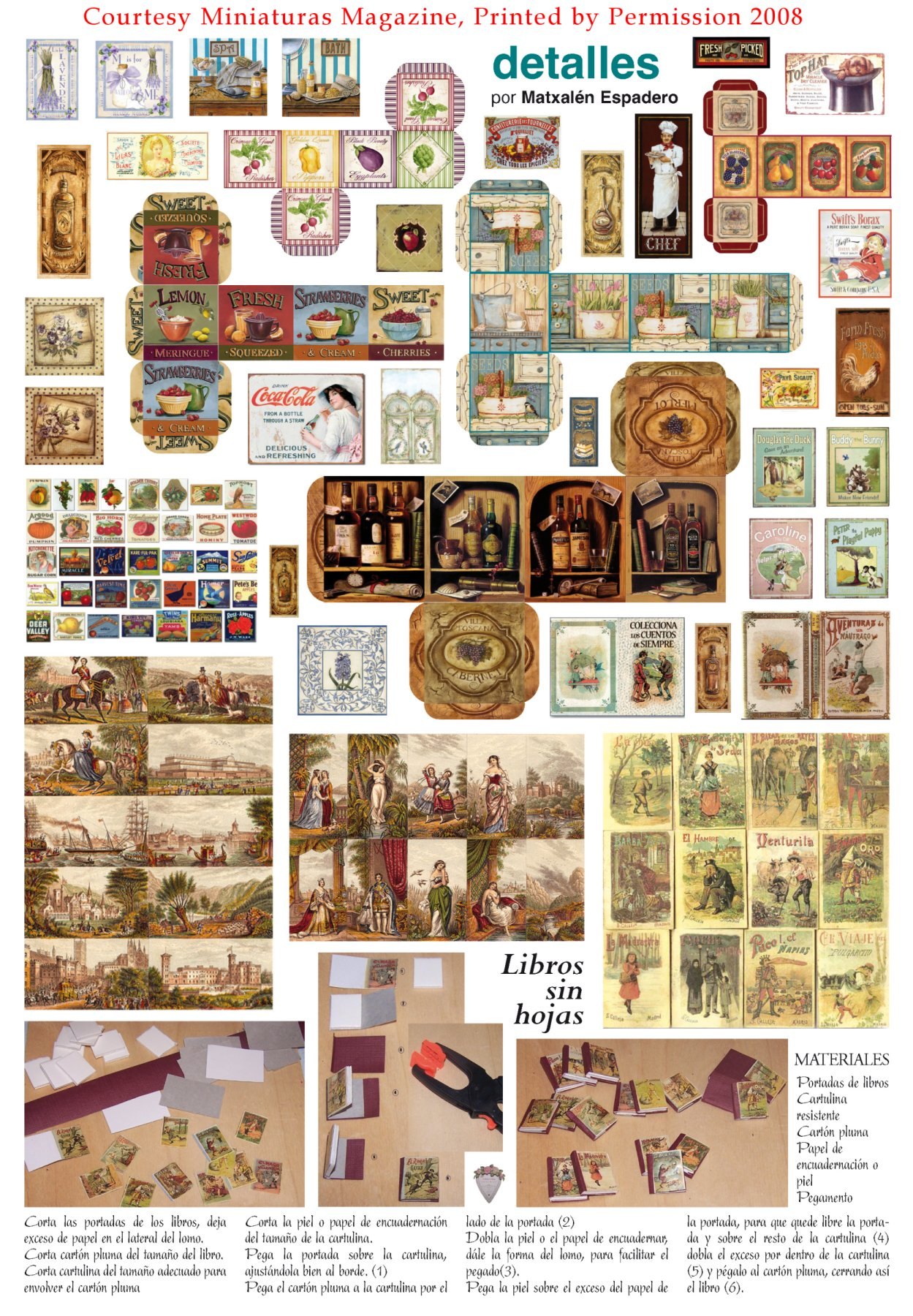 6 Images of Dollhouse Miniature Printables Newspapers