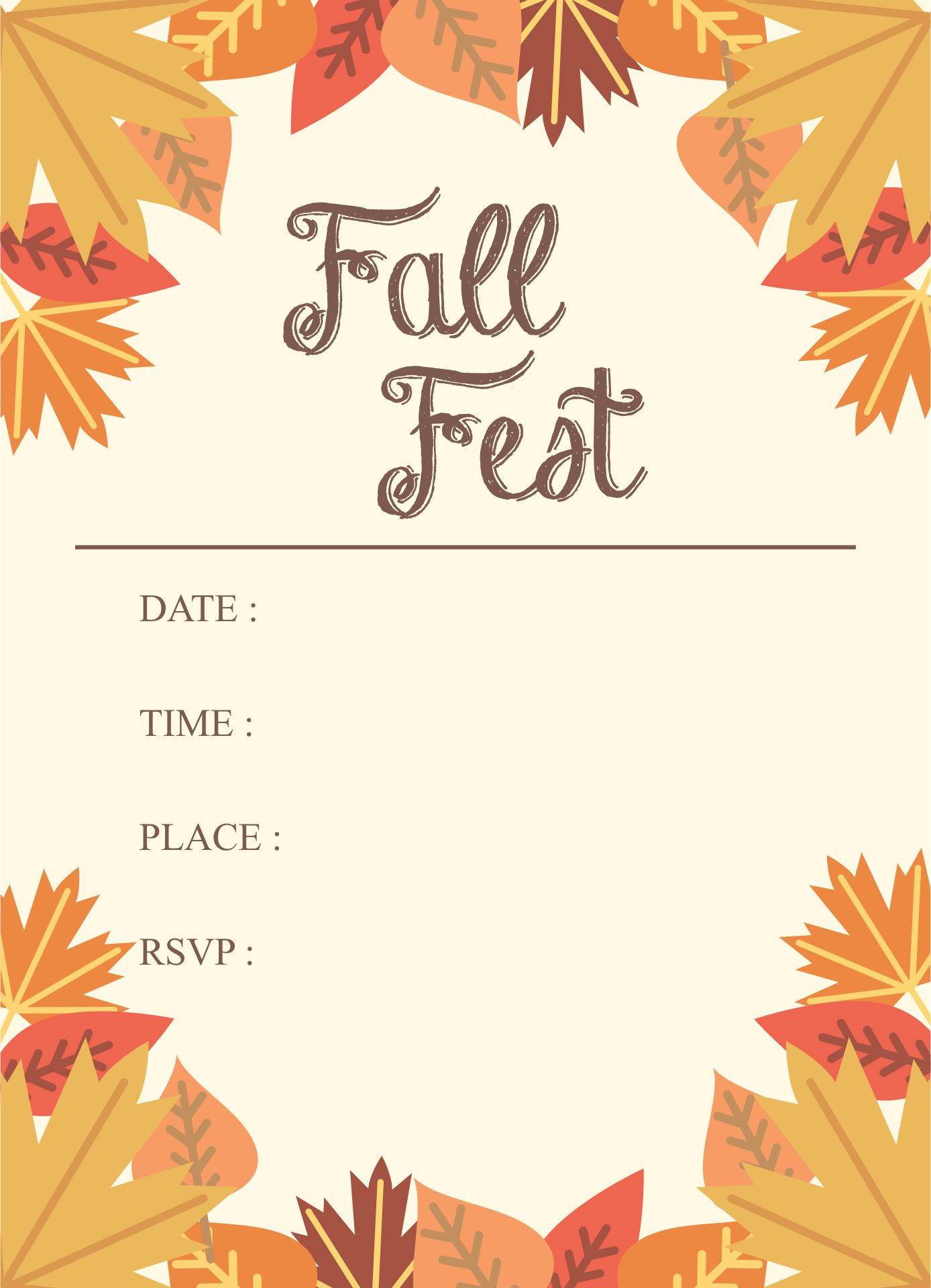 8 best images of free printable fall flyer templates fall festival flyer template free. Black Bedroom Furniture Sets. Home Design Ideas