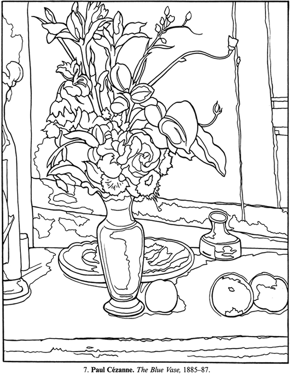 6 Best Images of Picasso Printable Coloring Pages Free