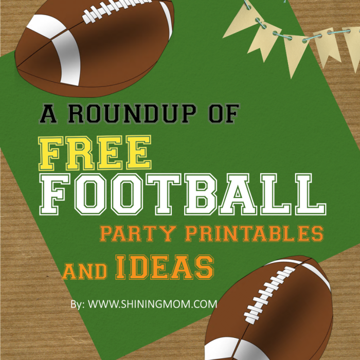 67 best Sports Birthday Party &amp- Free Printables images on Pinterest