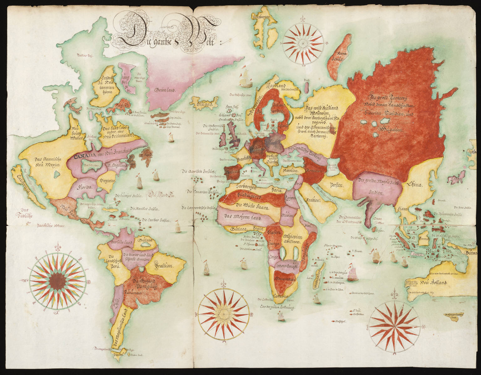 5 Images of Vintage World Map Printable