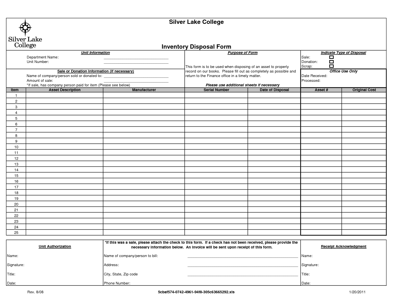 sample donation forms – Generic Donation Form