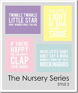 4 Images of Free Baby Boy Nursery Printables