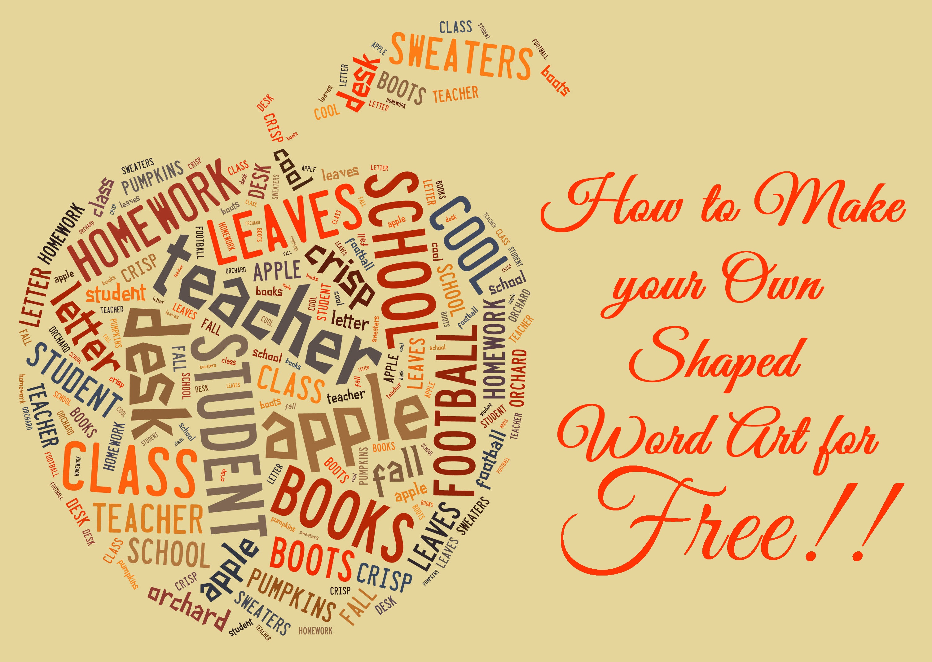 9 Best Images of Create Word Art